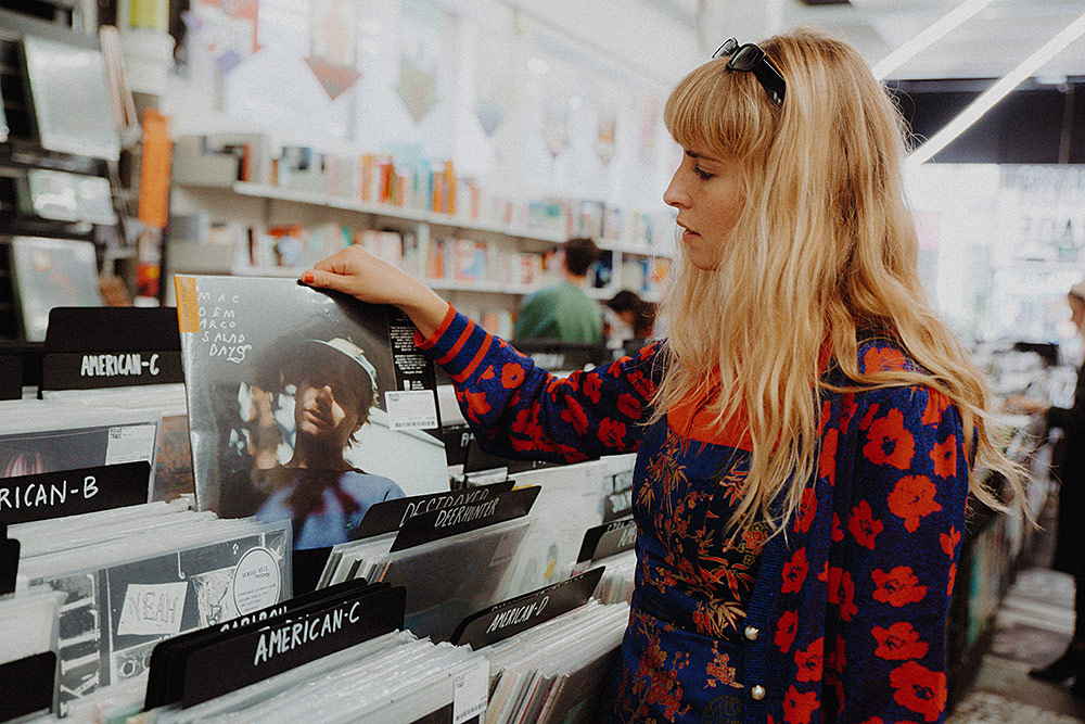 Record Shopping with Laurel