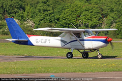G-CIPY | Reims Cessna F152 | Swiftair Maintenance