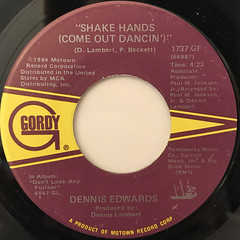 DENNIS EDWARDS:(YOU'RE MY)APHRODISIAC(LABEL SIDE-B)