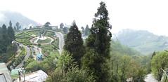 Batasia Loop from Top (Darjeeling)