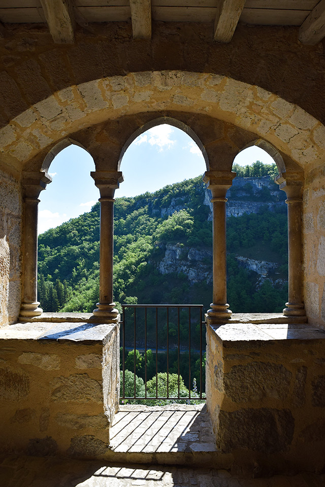 Historic Archways at Rocamadour, Lot #unesco #rocamadour #france #travel #travelguide