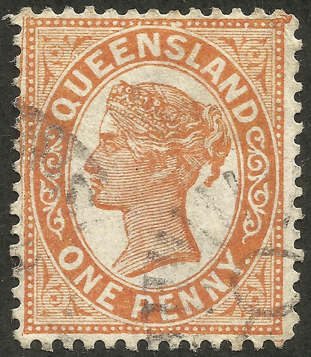 Queensland - Scott #90 (1890)