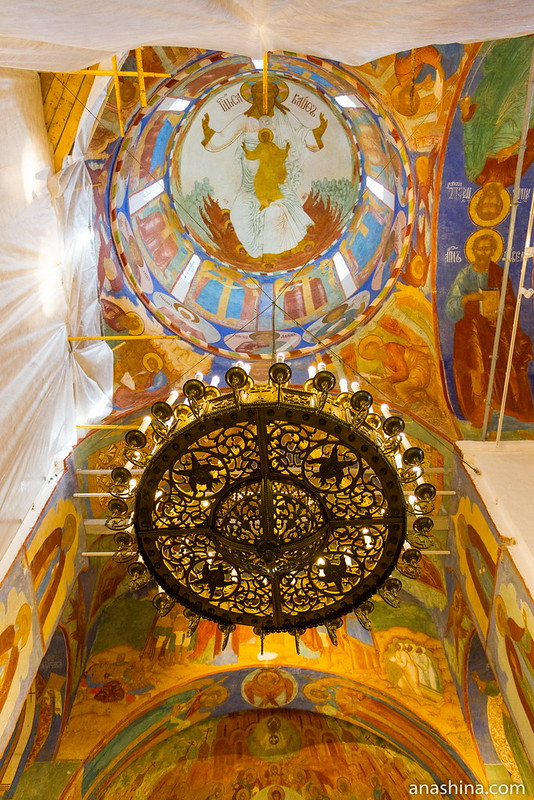 Внутреннее убранство Спасо-Преображенского собора, Спасо-Евфимиев монастырь, Суздаль
