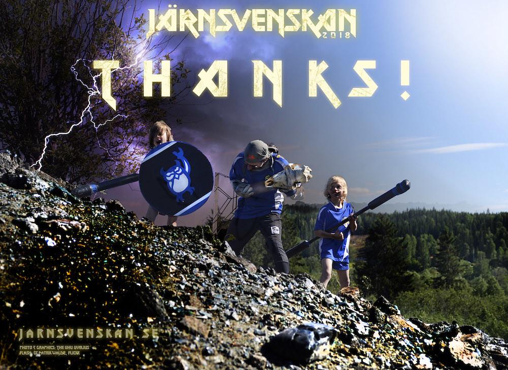 Järnsvenskan 2018: Thanks!