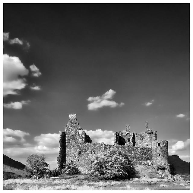 Kilchurn Castle, Fujifilm X-Pro1, XF18mmF2 R