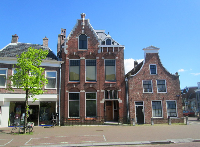Buildings in Sneek, The Netherlands