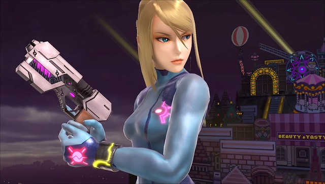 Super Smash Bros Ultimate - Zero Suit Samus