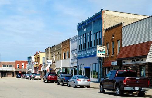 Stark Street, Randolph Wisconsin