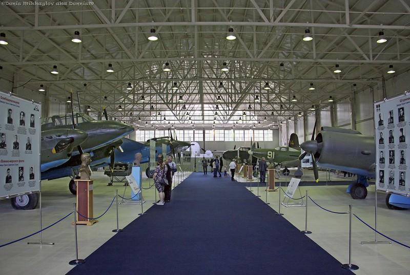 Центральный музей ВВС. Ангар №6Б.