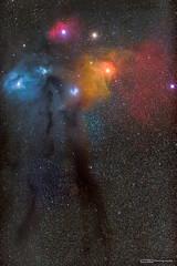 Antares & Rho Ophiuchi