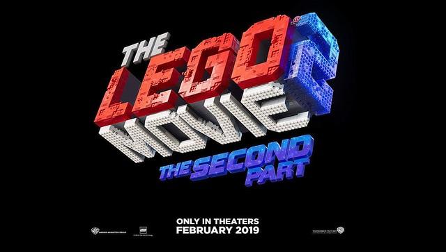 The LEGO Movie 2 - logo