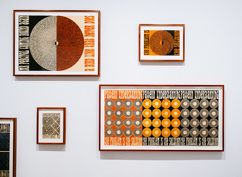 Assorted works by Emily Floyd