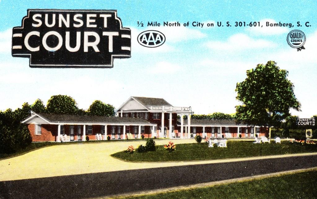 Sunset Court - Bamberg, South Carolina