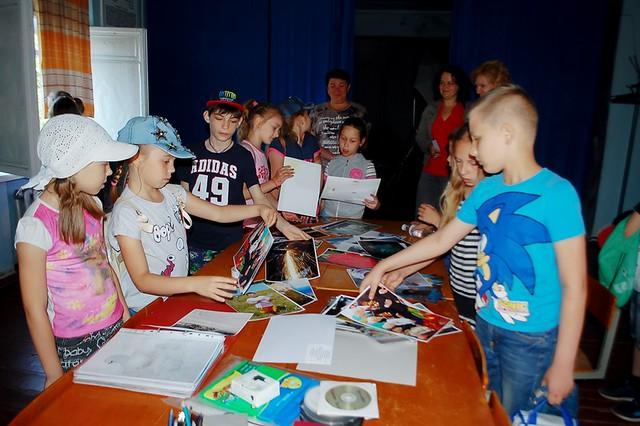 Відвідування СЮТ та районної бібліотеки, 1-4 загони 01.06.18