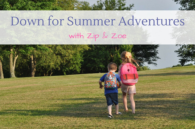 Down for Summer Adventures with Zip & Zoe + 75 Fun Things To Do This Summer With Kids