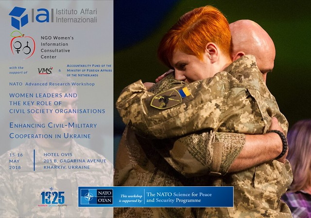 Women leaders and the key role of Civil Society Organisations. Enhancing Civil-Military Cooperation in Ukraine