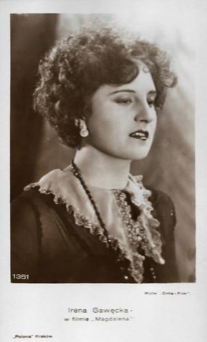Irena Gawecka in Magdalena (1929)