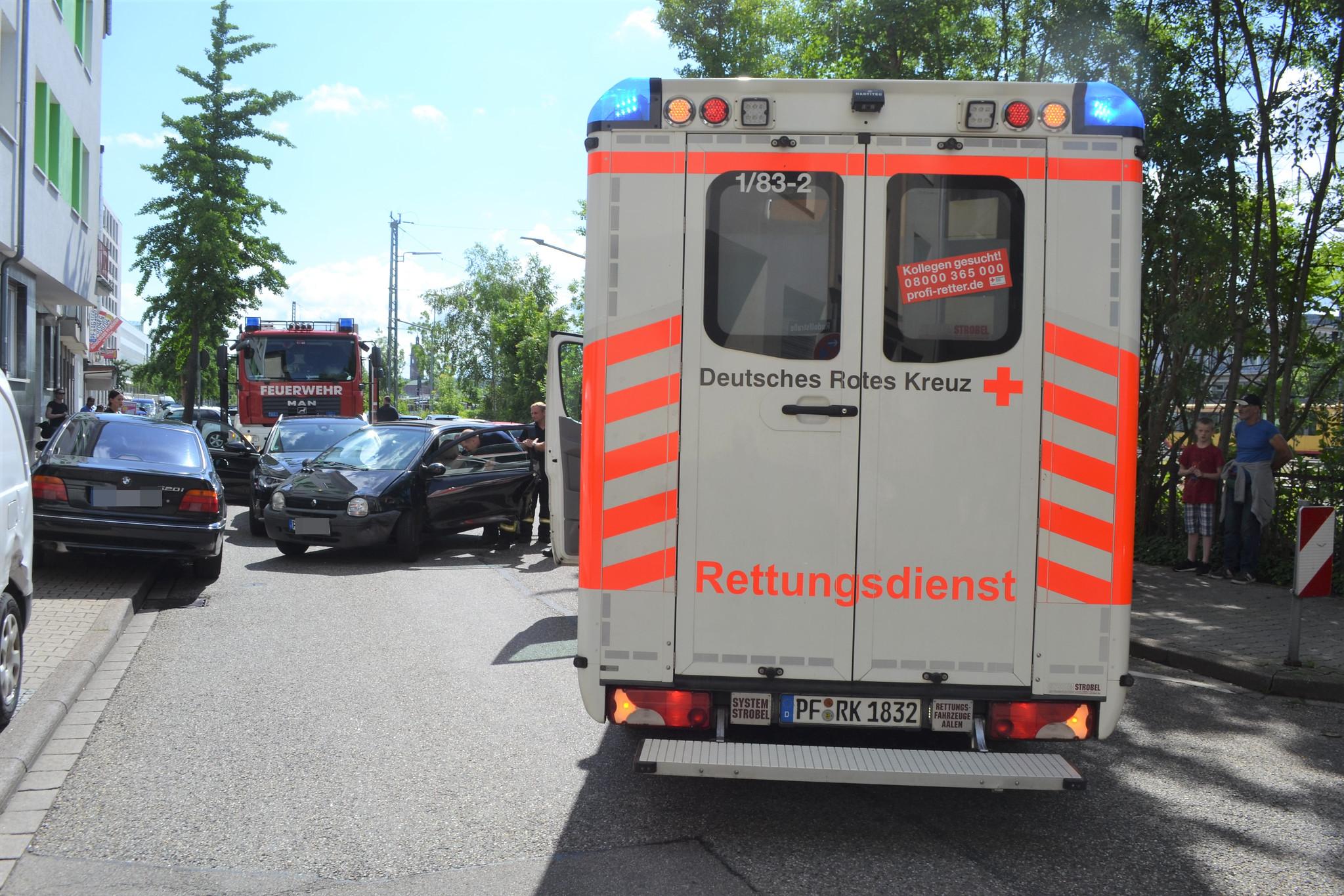 Pforzheim: VU - Güterstraße - 01.06.2018