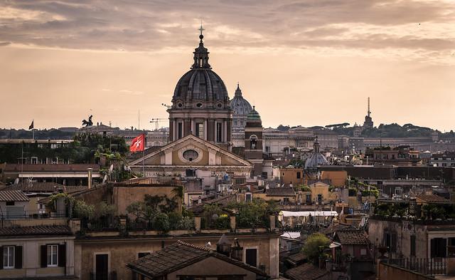 Roma - Scorci al tramonto