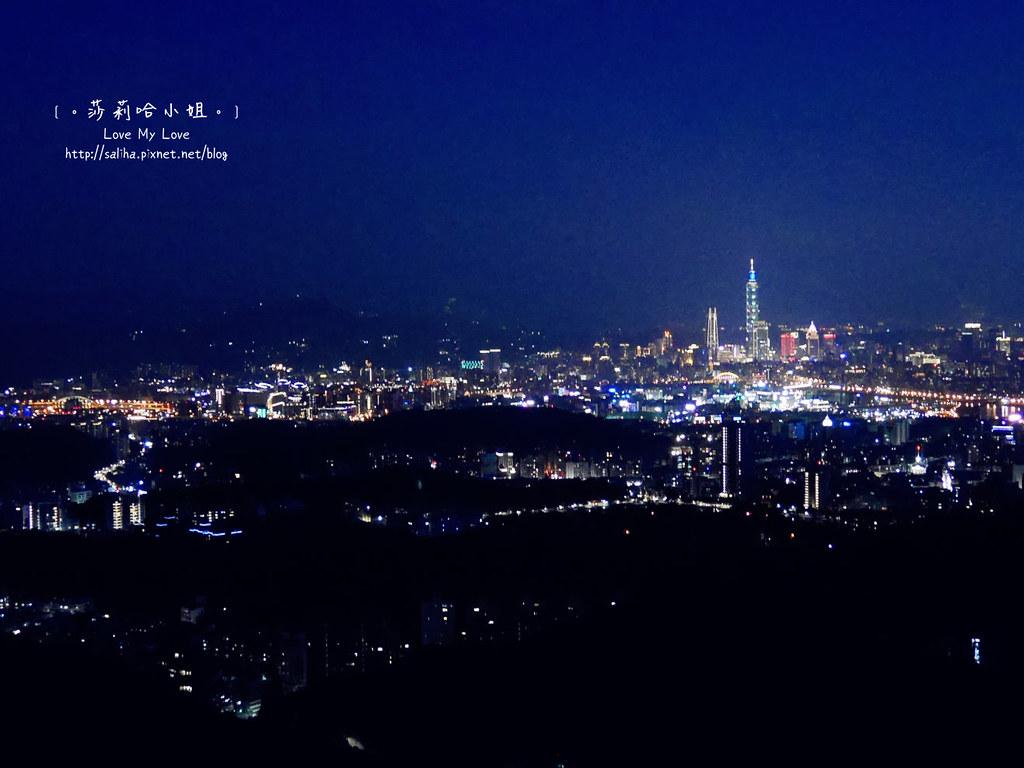 內湖碧山巖夜景 (1)