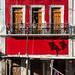 pequeña casa roja por rey perezoso