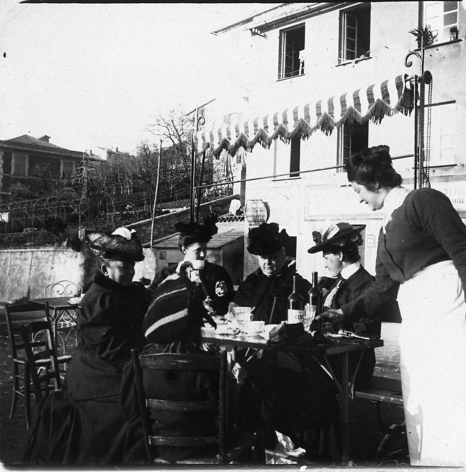 1906. Русские туристы в Рапалло и его окрестностях