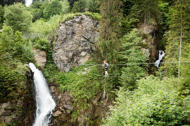 Klettersteig Talbach : Egipfelbuch bike climb talbach klettersteig family
