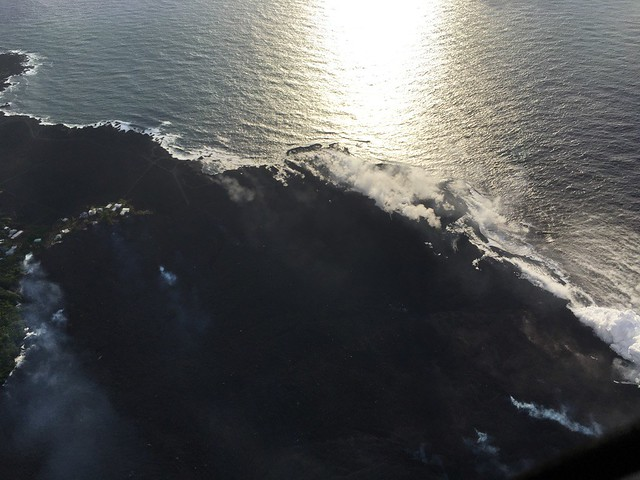 Kilauea, HI-East Rift Zone Eruption Event - 06/06/18
