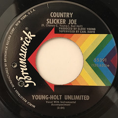 YOUNG-HOLT UNLIMITED:SOULFUL STRUT(LABEL SIDE-B)