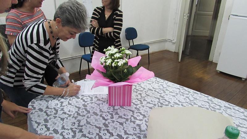 Despedida da dona Lúcia Furlan - Colégio Metodista Rib. Preto - 2018
