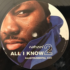 RAHZEL:ALL I KNOW(LABEL SIDE-B)