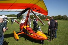 G-MYJU Solar Wings Pegasus [6573] Popham 050518