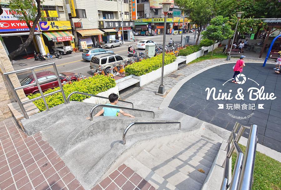 磨石子溜滑梯公園 台中山西公園11