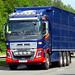 AW18 AWL - Volvo FH16 8x4 tridem - livestock carrier - Alwyn Williams Livestock, Pistyll, Pwllheli, Gwynedd, North Wales.