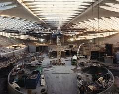 Début du chantier du Biodôme de Montréal. - [1990]. – VM168-Y-3_25-007. - Archives de la Ville de Montréal.