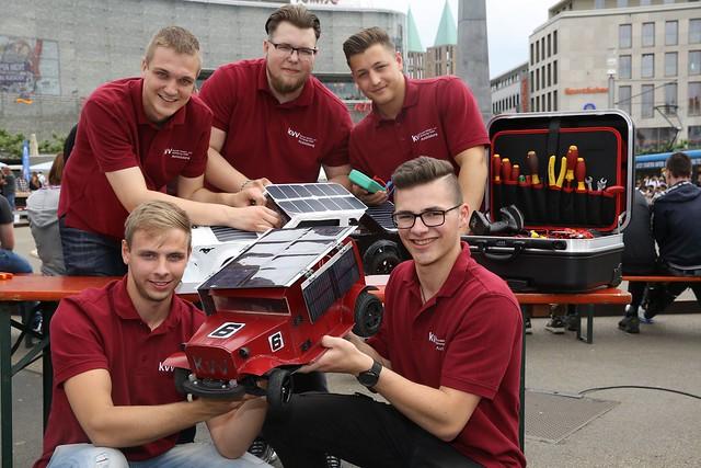 Hessen SolarCup auf dem Königsplatz - 25.5.2018