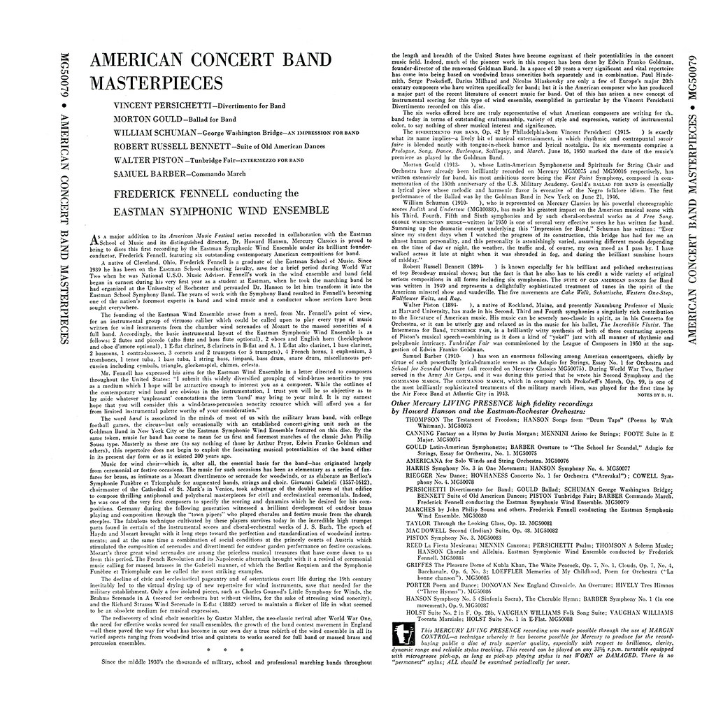 Frederick Fennell - American Concert Band Masterpieces