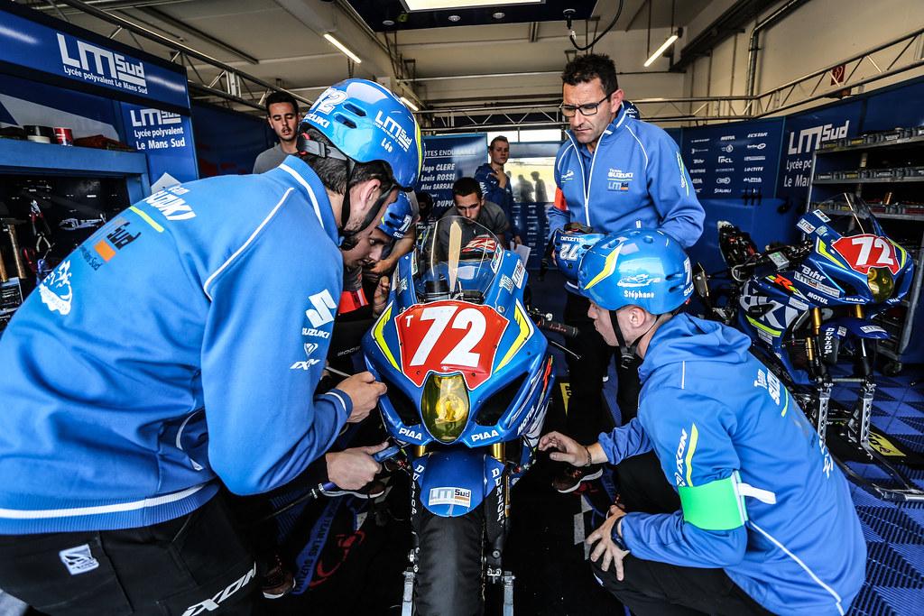 8,Hours,Oschersleben,2018,N 72 Junior Team Lms Suzuki, Clere Hugo, Sarrabayrouse Alex, Rossi Louis, Dupuy Eddy