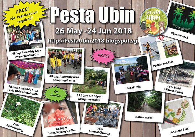 Pesta Ubin 2018: Ubin Day 24 June (Sun)