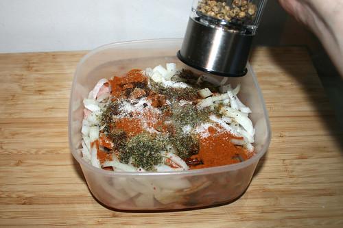 29 - Mit Salz & Pfeffer würzen / Season with salt & pepper