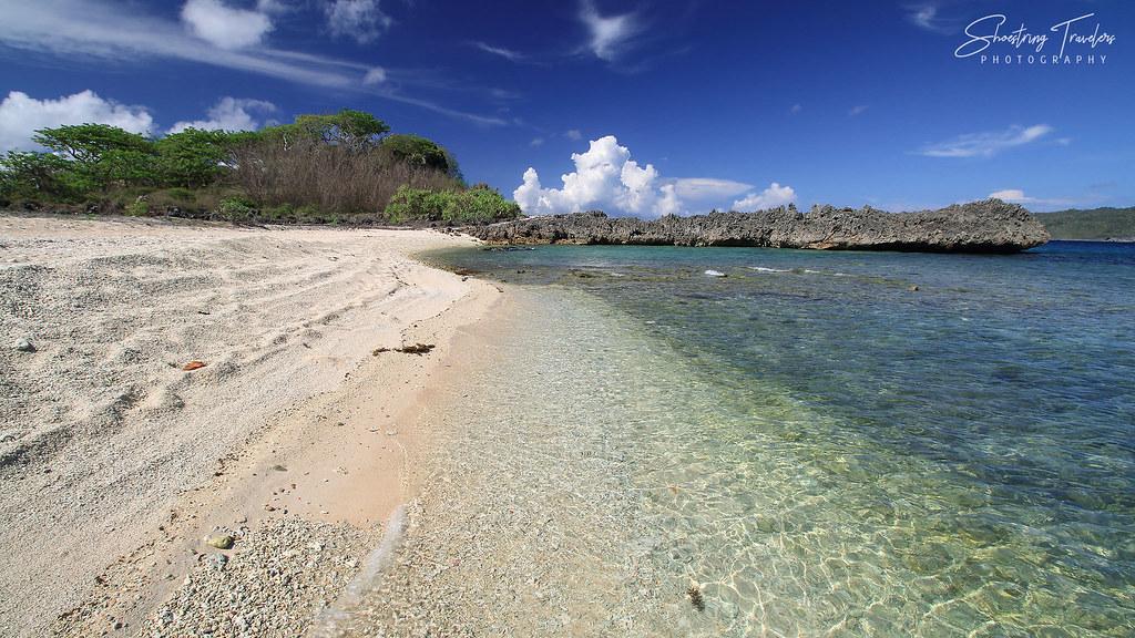 Silad Island's western beach