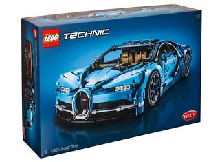 超跑夢再度啟動!! LEGO 42083 Technic 系列【布加迪 Chiron】Bugatti Chiron