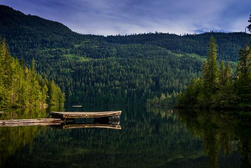 madeirapark britishcolumbia canada ca waugh lake waughlake jetty