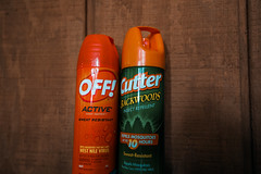 Off and Cutter DEET Insect Repellent - Bug Spray