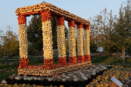 Pumpkin Columns