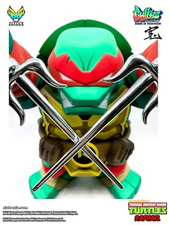 The Rebel! BigBoysToys Bulkyz Raphael - Teenage Mutant Ninja Turtles