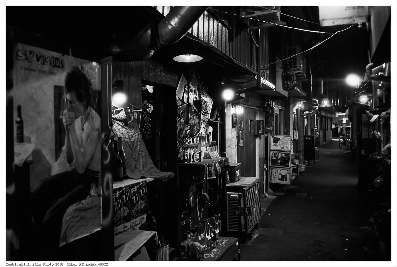 北九州市小倉北区魚町 Nikon_FE_Kodak_400TX__34