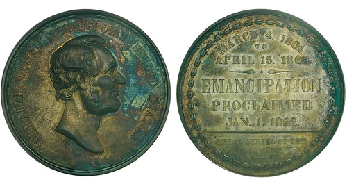 Lot 977 - Emancipation Proclamation Medal
