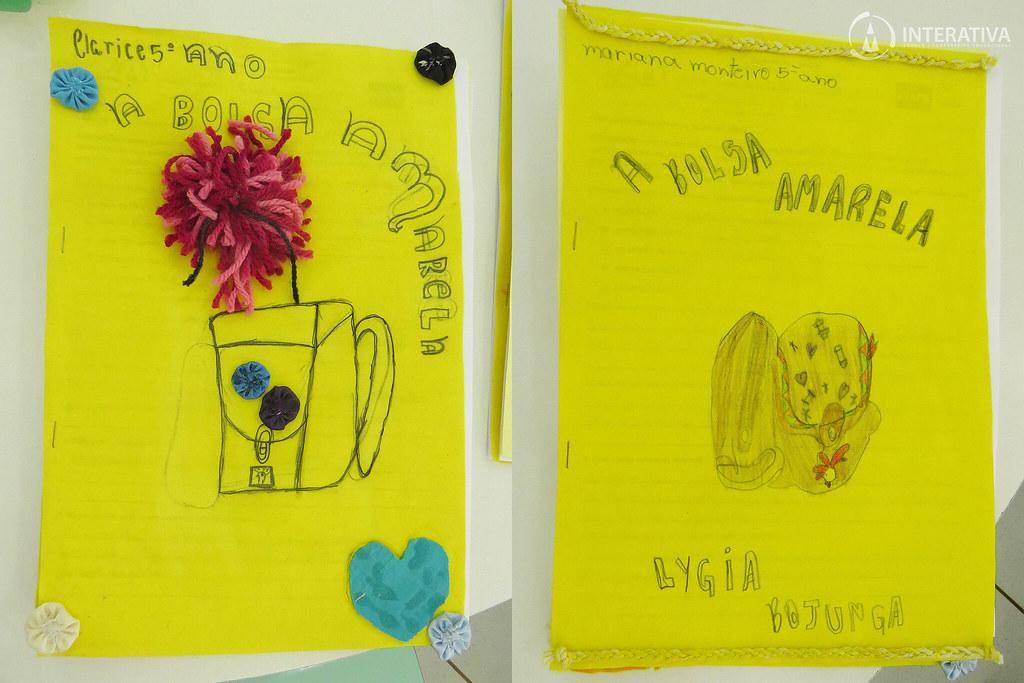 """a1d9065e0 A Bolsa Amarela"""" – Alunos do 5º ano realizam Apreciação Literária ..."""