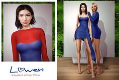 LOWEN - Kendall Wrap Dress @FaMESHed